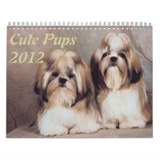 Cute Pups 2012 Calendars