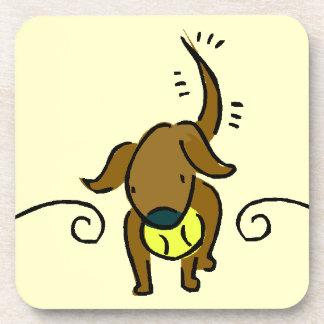 Cute Pupy Dog Drink Coasters