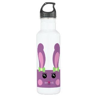 Cute Purple Bunny Bottle