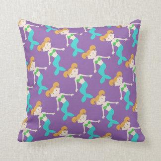 Purple Mermaid Pillows - Decorative & Throw Pillows Zazzle