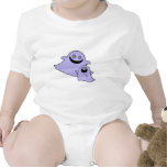 cute purple momma and baby ghosts t-shirts