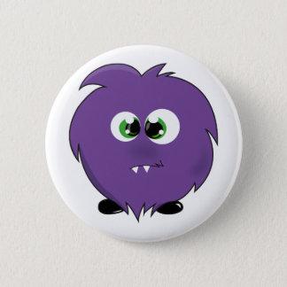 Cute Purple Monster Button