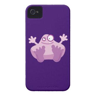 Cute Purple Monster Case-Mate iPhone 4 Cases