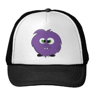 Cute Purple Monster Trucker Hat