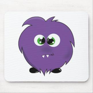 Cute Purple Monster Mouse Pad