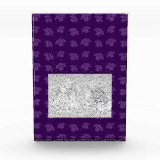 Cute purple mushroom pattern awards