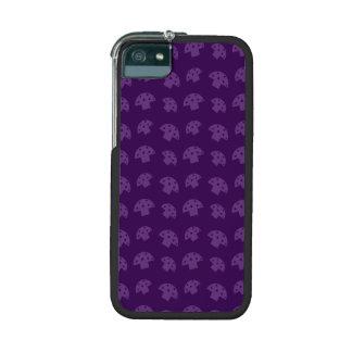 Cute purple mushroom pattern case for iPhone 5/5S