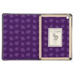 Cute purple mushroom pattern cover for iPad air