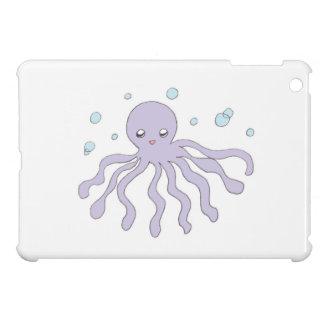 Cute Purple Octopus iPad Mini Cover