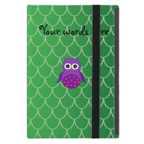 Cute purple owl cover for iPad mini