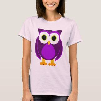 Cute Purple Owl T-Shirt