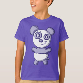 Cute Purple Panda Shirt