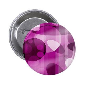 cute, purple pinback button