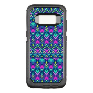 Aztec Themed Cute Purple Pink Tribal OtterBox Galaxy S8 Case