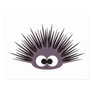 Cute Purple Sea Urchin Postcard
