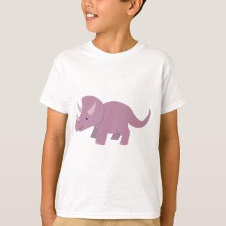 Cute Purple Triceratops (baby Torosaurus) T-Shirt