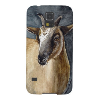Cute Pygmy Goat Watercolor Artwork Case For Galaxy S5
