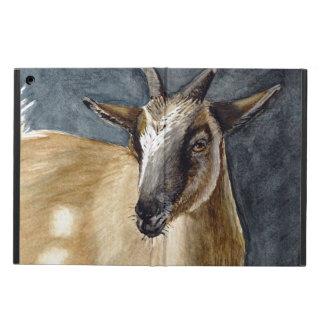 Cute Pygmy Goat Watercolor Artwork iPad Air Cases