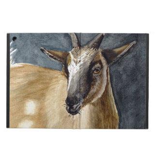 Cute Pygmy Goat Watercolor Artwork iPad Air Cover