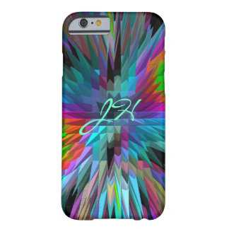Cute Pyramids patterns & Monogram Barely There iPhone 6 Case