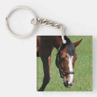 Cute Quarter Horse Keychain