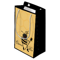 CUTE QUEEN BEE SMALL MATTE GIFT BAG