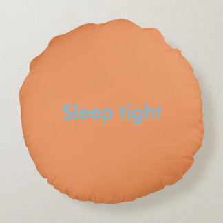 Cute Quote Pillow Round Pillow