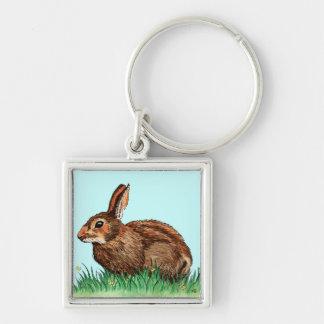 cute rabbit animal keychain