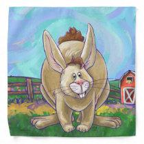 Cute Rabbit Animal Parade Bandana