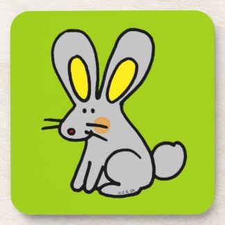 Cute rabbit coaster