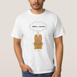 Cute Rabbit dreams of carrots Shirt