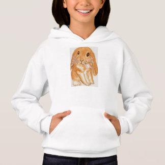 Cute Rabbit hoodie daughter friend birthday