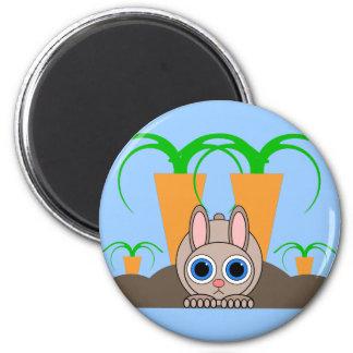 cute rabbit magnet