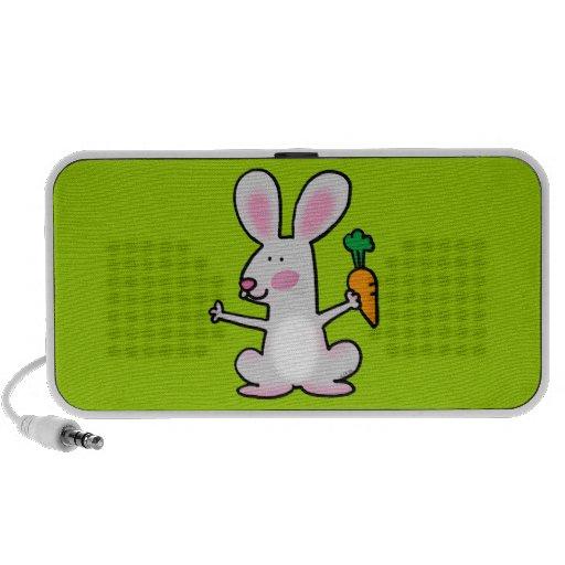 Cute rabbit mp3 speaker