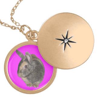 Cute Rabbit Photo Necklaces. Locket Necklace