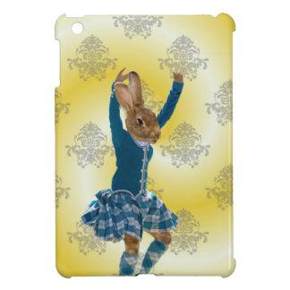 Cute rabbit Scottish highland dancer iPad Mini Cases