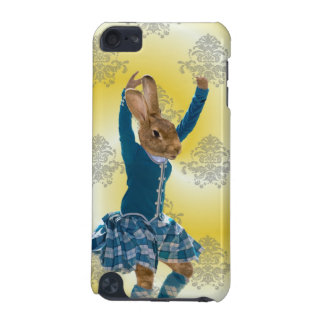 Cute rabbit Scottish highland dancer iPod Touch (5th Generation) Case