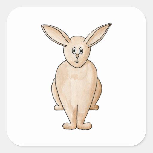 Cute Rabbit. Sticker