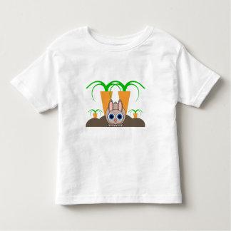 cute rabbit toddler t-shirt