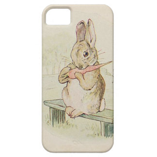 CUTE RABBIT WITH CARROT, VINTAGE BUNNY PHONE CASE