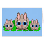 cute rabbits cards