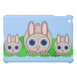cute rabbits case for the iPad mini