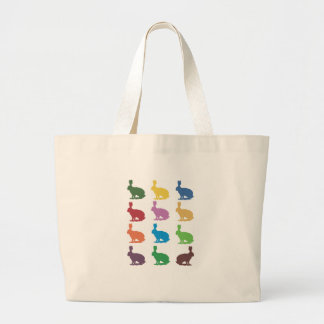 Cute Rabbits Pop Art Gifts Tote Bags