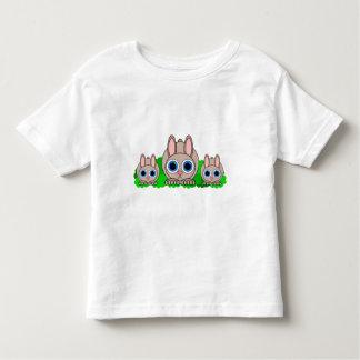 cute rabbits toddler t-shirt