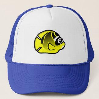 Cute Raccoon Butterflyfish Trucker Hat
