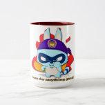 Cute Raccoon Cup Funny Cartoon Character Mug