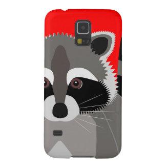 Cute Raccoon Drawing Galaxy S5 Cover
