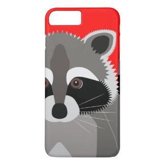 Cute Raccoon Drawing iPhone 8 Plus/7 Plus Case