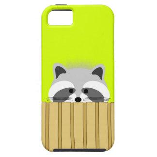 Cute Raccoon iPhone Case