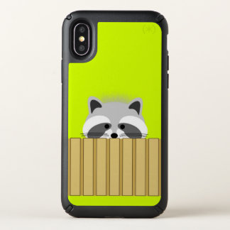 Cute Raccoon iPhone X Speck iPhone X Case